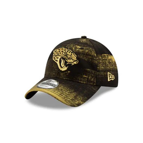 New Era Black Adjustable Hats - Jacksonville Jaguars Nfl Painted Prime 9twenty - Canada 704NBCO