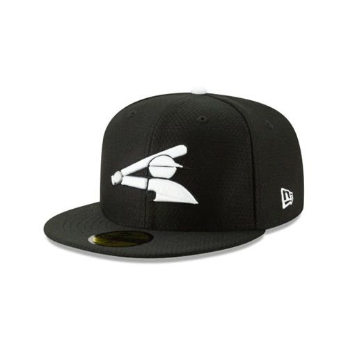 New Era Black Fitted Hats - Chicago White Sox Mlb Batting Practice 59fifty - Canada 361DJNX