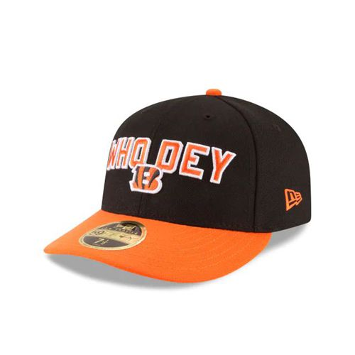 New Era Black Fitted Hats - Cincinnati Bengals Nfl Spotlight Low Profile 59fifty - Canada 891LDLY