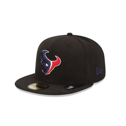 New Era Black Fitted Hats - Houston Texans Nfl 59fifty - Canada 263RWQL