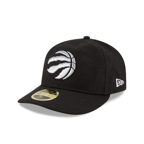 New Era Black Fitted Hats - Toronto Raptors Nba Fan Fit Retro Crown 59fifty - Canada 431HWQK