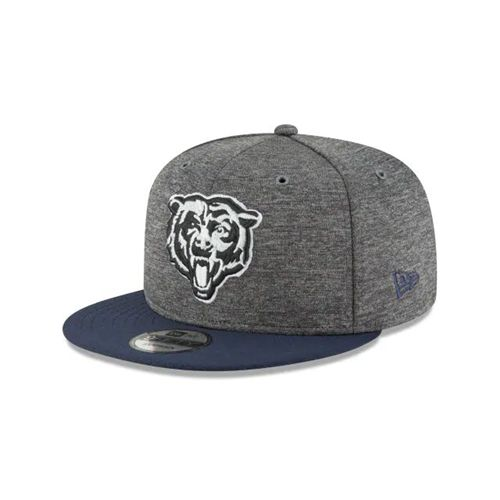 New Era Black Snapback Hats - Chicago Bears Nfl Graphite Sideline Home 9fifty - Canada 611TVEK