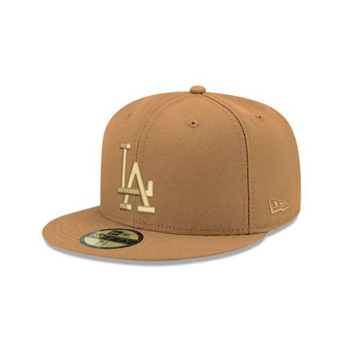 New Era Brown Fitted Hats - Los Angeles Dodgers Mlb Tonal 59fifty - Canada 469WWPG