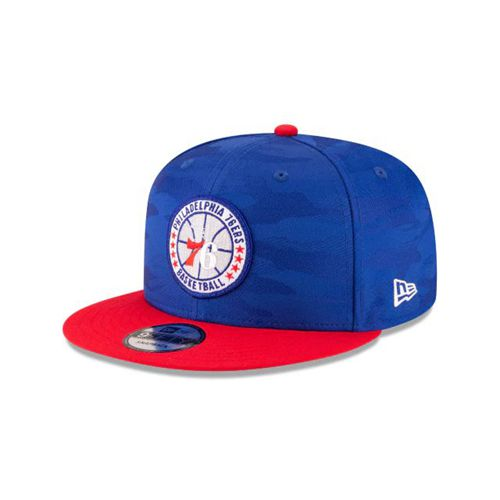 New Era Red Snapback Hats - Philadelphia Sixers Nba 2018 Authentics Tip Off Series Two-Tone 9fifty - Canada 656SWVU